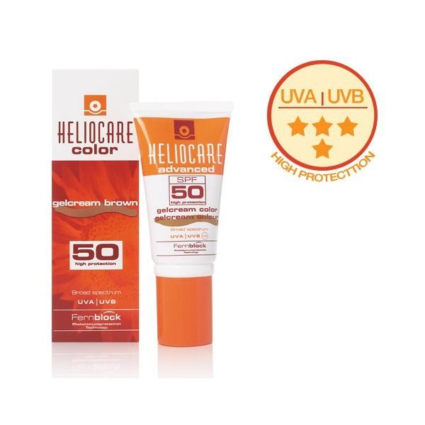 Heliocare SPF 50 Gel Cream Brown